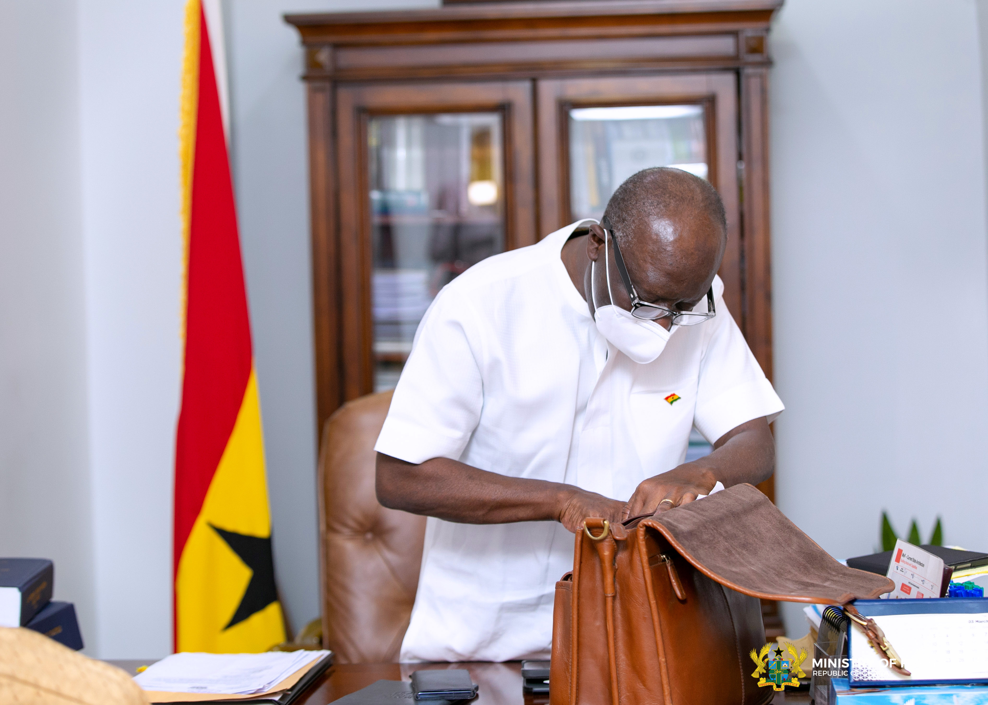 Finance Minister's Frist Day at Work 2021