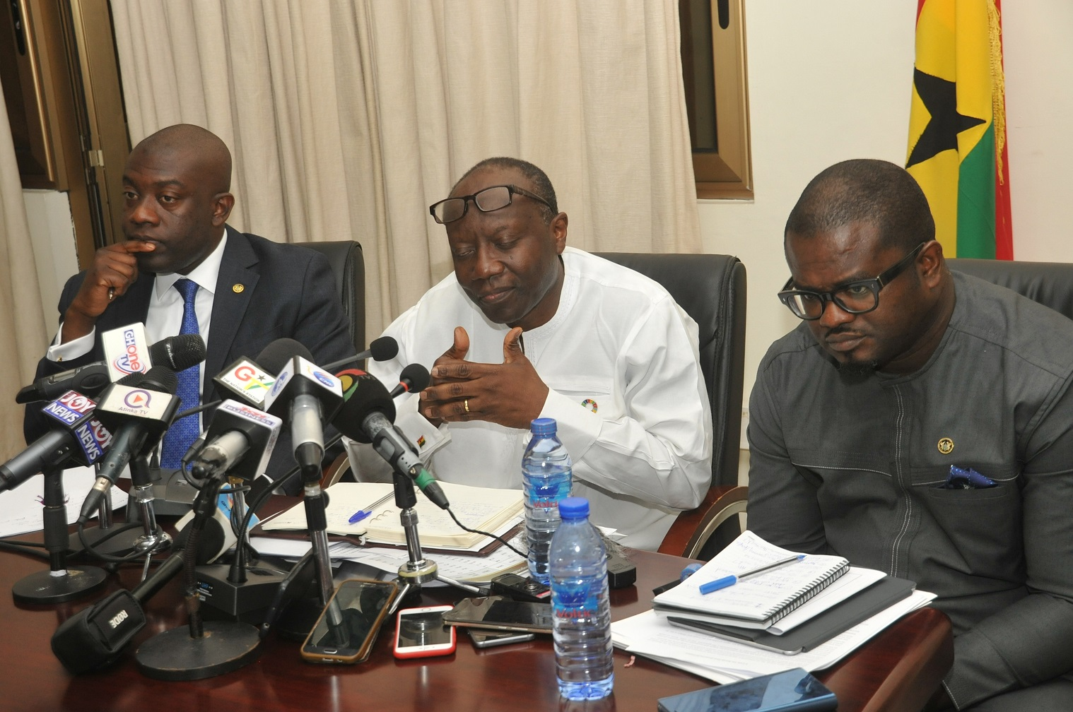 Finance Minister Engages Journalists on Performance of the Economy